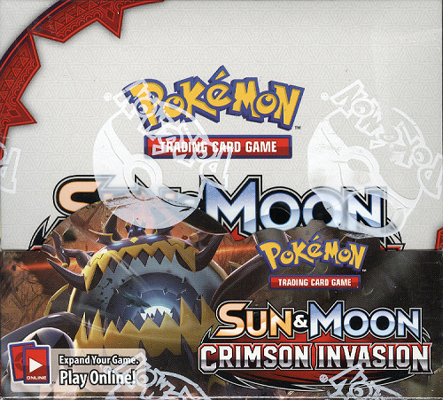 Pokemon TCG Crimson Invasion Booster Box Pokemon Sealed Products