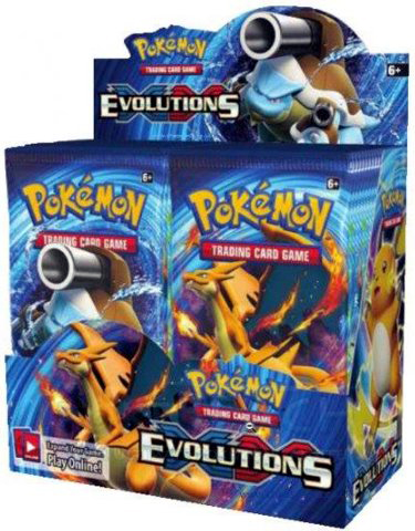 Pokemon XY Evolutions Booster Box Pokemon Sealed Products