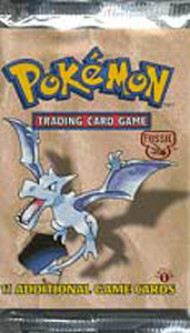 Pokemon Cards Fossil 1st Edition  Booster Packs