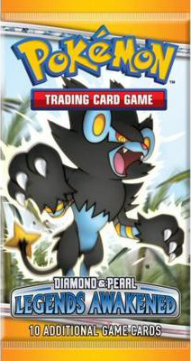 Legends Awakened Pokemon Cards EX Diamond & Pearl  Booster Packs