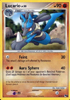 Lucario 2/17 Rare POP Series 6 Promos